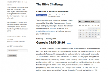 Embed Bible Passages